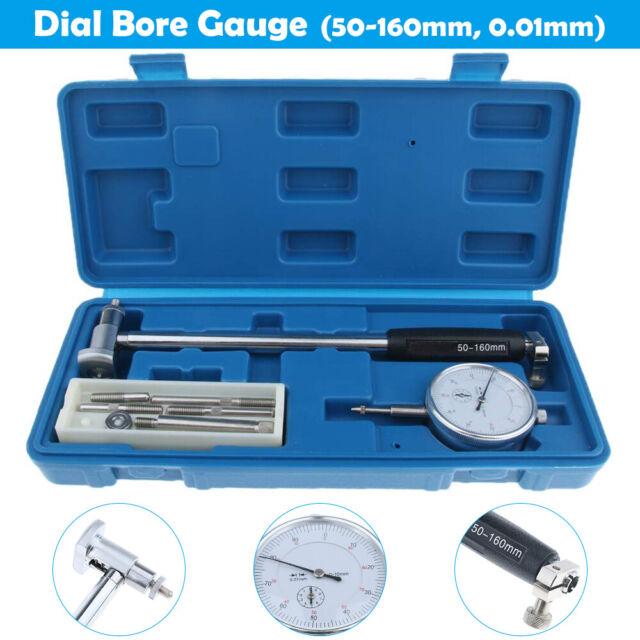 Inner Diameter Indicator DIAL BORE GAUGE METRIC 50-160MM GRADUATE 0.01 MEASURING