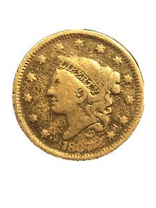 1835-Philadelphia-Mint-Copper-Coronet-Head-Large-Cent-2076