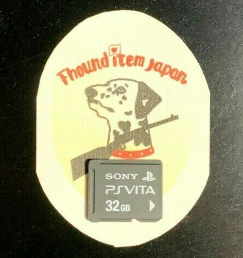 PS VITA Memory Card 32GB SONY Official Genuine PlayStation Standard Shipping PSV