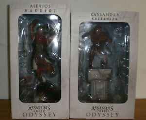 Figuras-assassins-creed-odyssey-personajes-Casandra-Alexios-ubi-Ubisoft-Collectibles