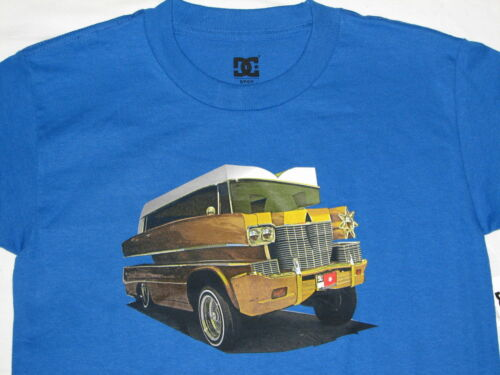 ~NEW~ YOUTH BOYS DC SHOES the orignals SHORT SLEEVE T-SHIRT BLUE