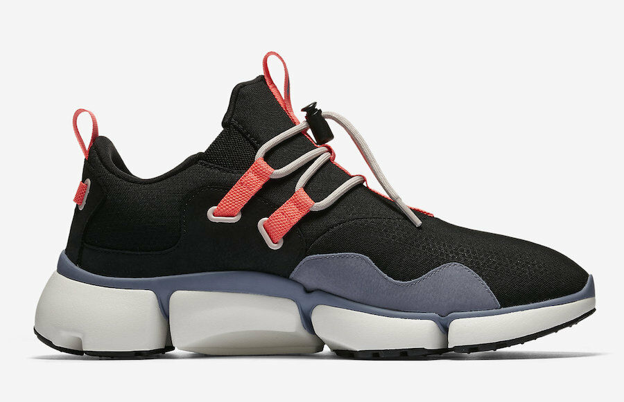 NIKELAB Pocketknife DM Men shoes Black Dark Sky bluee 910571 001 Multiple Sizes