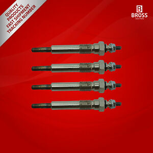 4X-Heater-Glow-Plugs-GJ26IS-371G-100226208-for-Isuzu-Opel-Bedford-Vauxhall