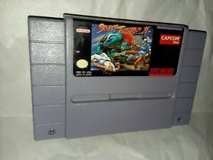Street-Fighter-II-Super-Nintendo-Entertainment-System-1991-Tested-SNES-Cartridge