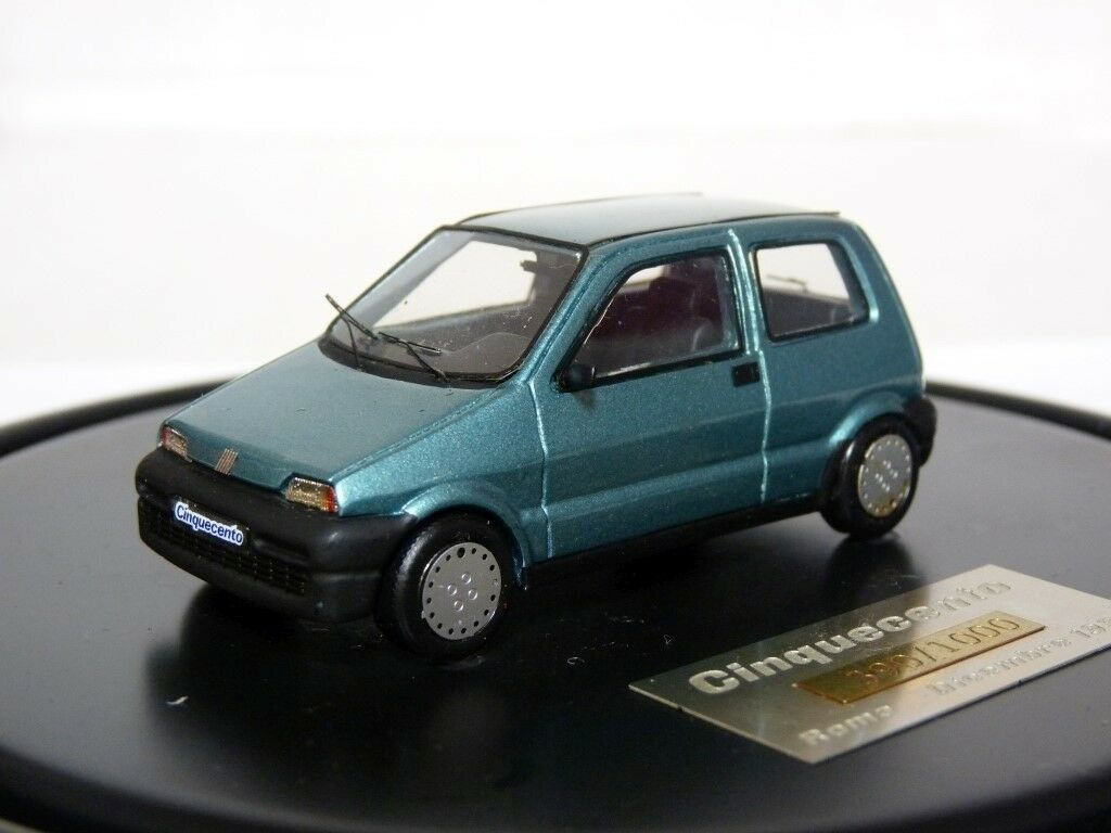 ABC Brianza 1 43 1990 Fiat Cinquecento Handmade Resin Model Car