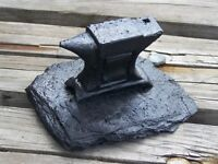 Handcrafted From Coal Anvil Figurine Handcrafted In Kentucky