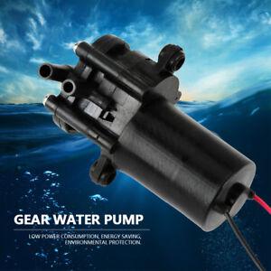 ZC-A210 12V Mini Kunststoff selbstansaugende Wasserpumpe DC Zahnradpumpe 0~90°C