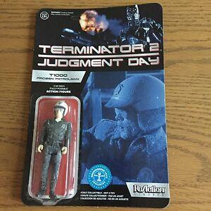 Terminator 2 Judgement Day T1000 Frozen Patrolman 10 cm Action Figure