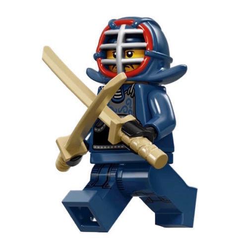 LEGO Minifigures Series 15 n° 12 Guerriero Kendo