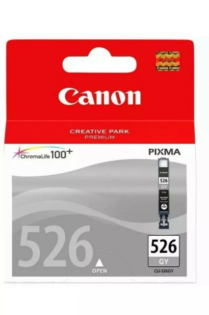 Genuine Canon CLI-526 Grey Ink Cartridge For MG6250 MG6150 MG8150