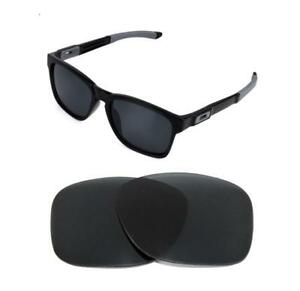 542d64abd2 Image is loading NEW-POLARIZED-BLACK-REPLACEMENT-LENS-FOR-OAKLEY-CATALYST-