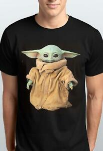 BABY YODA IN BROWN BAG T-SHIRT/HOODIE FOR KIDS N ADULTS S-5XL