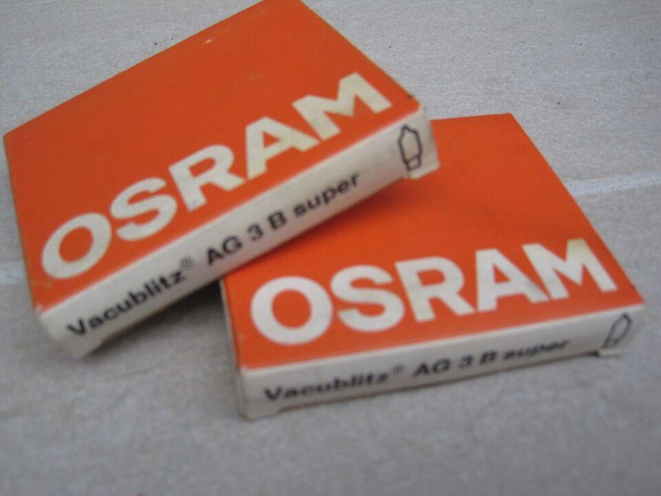 Osram, AG 3 B super Photoflasher, Perfekt