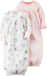 Carter\'s Baby Infant Girls 2-PK Sleeper Gown Sleep Bag Floral ...