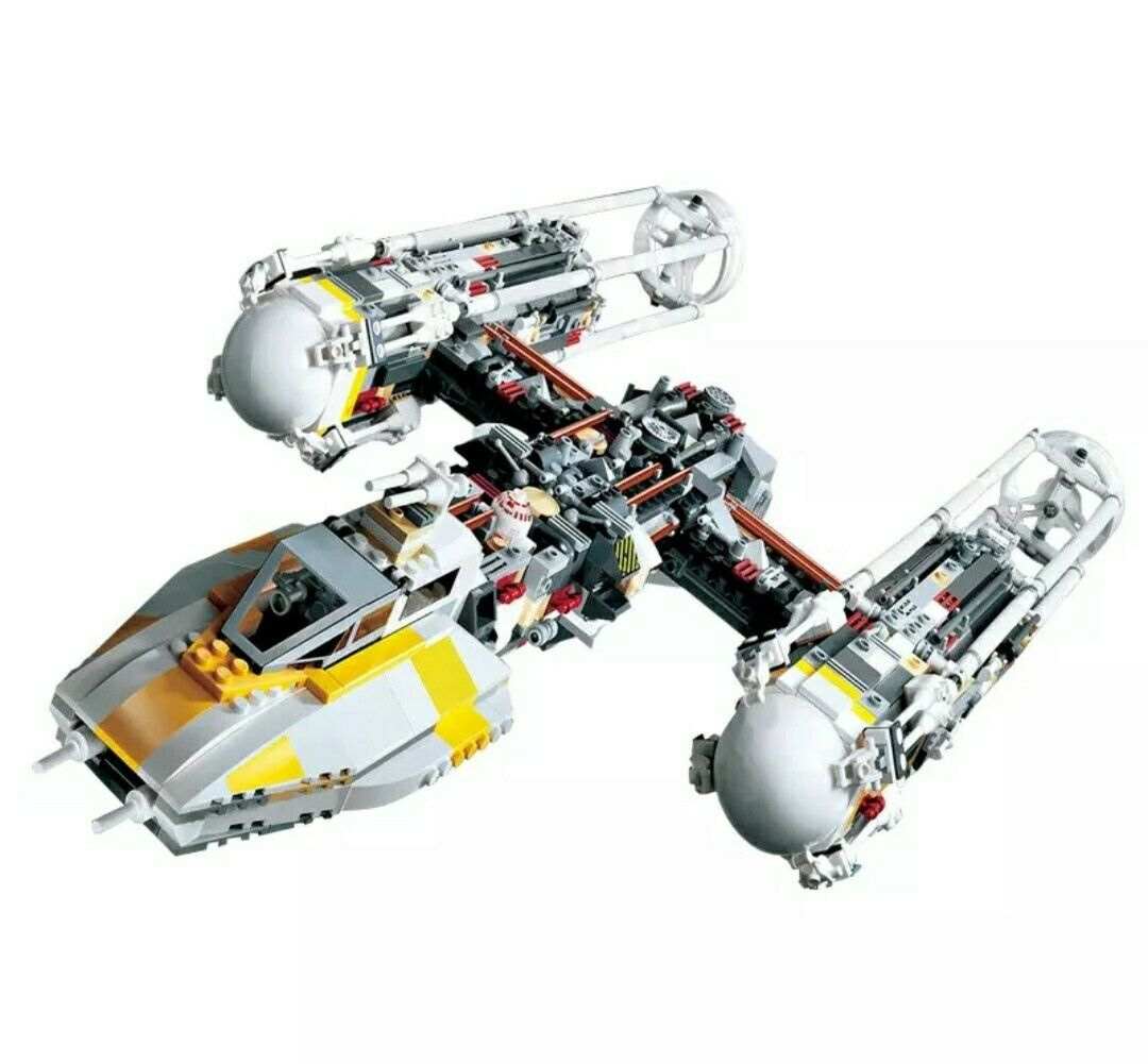 STAR WARS WAUCS Y-WING Attack Starfighter Lego compatibile 10134 NUOVO - DHL -