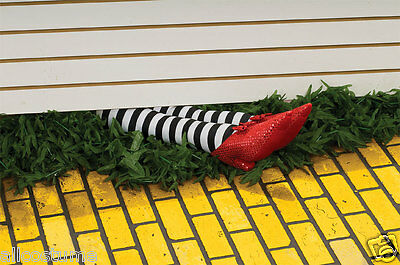 """Wicked Witch Of The East Legs Prop Wizard Of Oz Costume Legs 18/"""" 9166"""