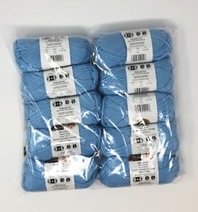 NIB-Lion-brand-Acrylic-4-ply-yarn-10-Skeins-per-bag-650-yards-Color-SKY