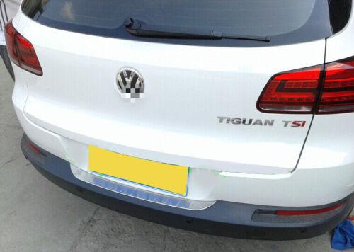 VW Tiguan 2009-2016 OUTER REAR BUMPER PROTECTOR GUARD TRIM COVER SILL PLATE UK