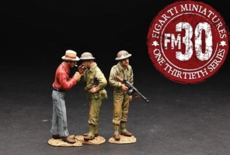 FIGARTI WW2 AMERICAN PACIFIC WIA010 RADIO OPERATOR SET B MIB