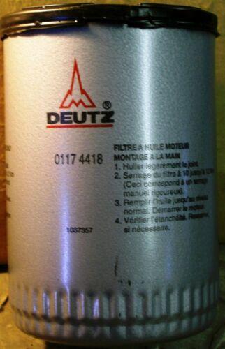 GENUINE DEUTZ HYDRAULIC OIL FILTER ASSEMBLY 0117 4418
