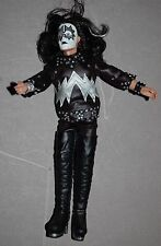 "KISS Ace Frehley First Album 1974 Retro 8"" Action Figure 2012 From Aucoin Era"