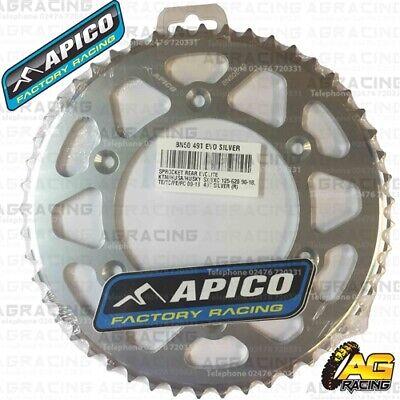 Actief Apico Evolite Silver Rear Sprocket 49t 520 For Ktm Sx 400 1999 Met Een Langdurige Reputatie