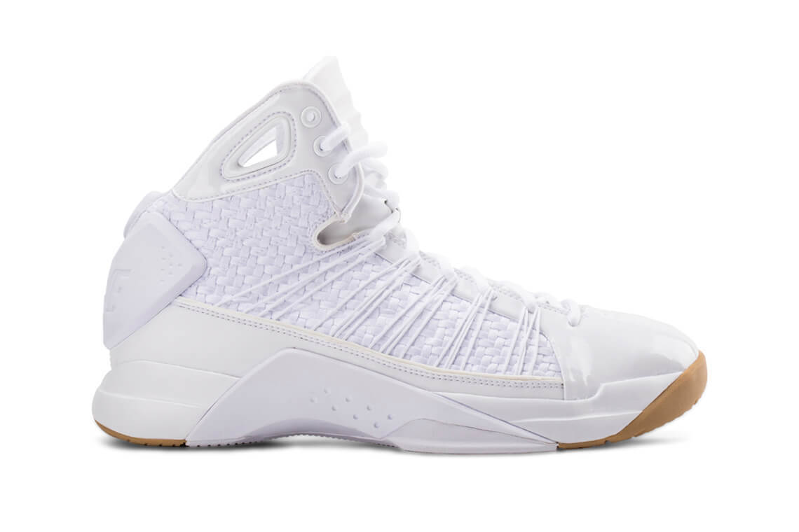 NIKE HYPERDUNK LUX Trainers Mid Boots Casual Fashion - () White Gum