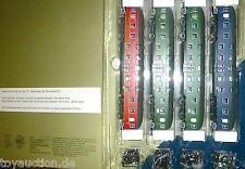 4 Doppelstock DB4yg 79001 79003 grün 79004 blau Wr4yge DB001 HERIS S4 H0 1:87 µ√