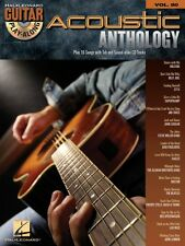 Guitar Play-along: Acoustic Anthology Vol. 80 (2008, CD / Paperback)