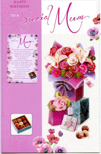 MUM BIRTHDAY INCLUDING KEEP SAKE CARD FANTASTIC VERSES GREAT QUALITY