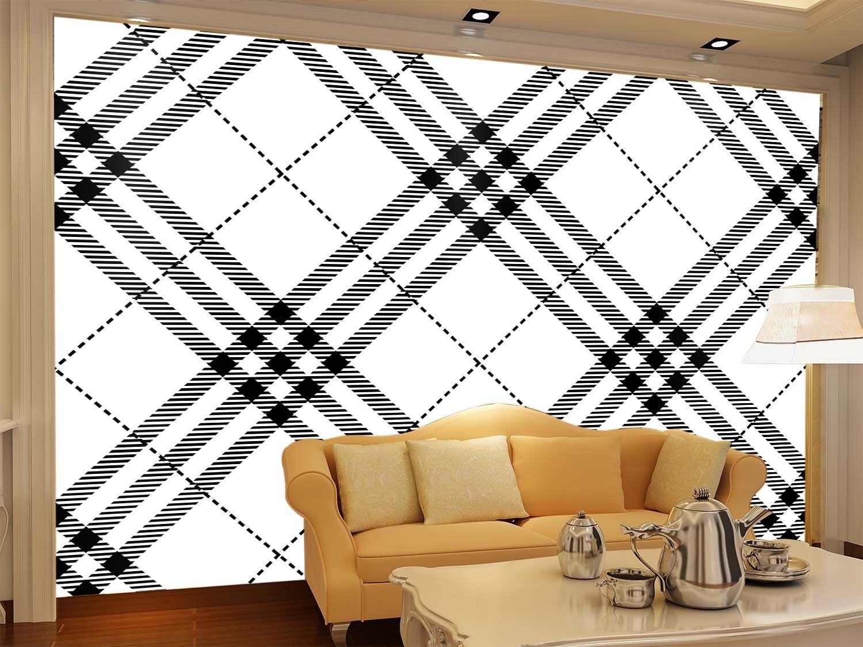 3D Scottish Plaid 67 Wall Paper Wall Print Decal Wall Deco Indoor Wall Murals