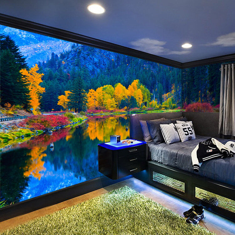 3D Lake Scenery 515 WallPaper Murals Wall Print Decal Wall Deco AJ WALLPAPER