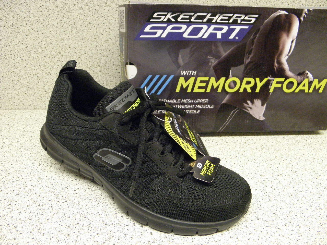 skechers ®  bisher  69,95   Sport Schuhe  superbequem schwarz (518)