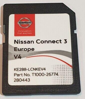 Carte SD GPS Europe 2020 v5 Database Q1.2019 Nissan Connect 3 LCN2