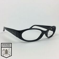 a608fbe7b43e2 ... canada item 1 ray ban eyeglasses sidestreet black oval glassesframe  authentic. mod rb 2128 ray