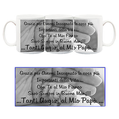 Speciale Festa Del Papà Babbo Frase Tazza Ceramica Mug Idea Regalo 19 Marzo