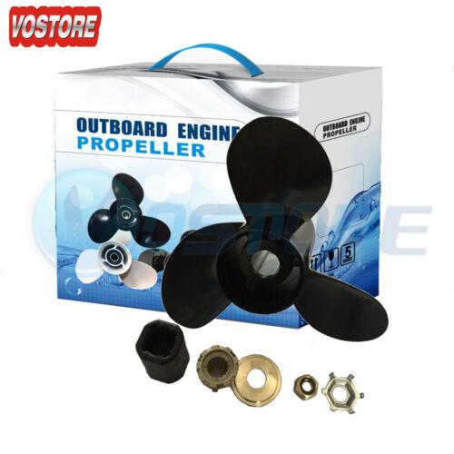 "Aluminum Propeller For Mercury 48-832830A45 14.5/"" x 19/"" pitch"
