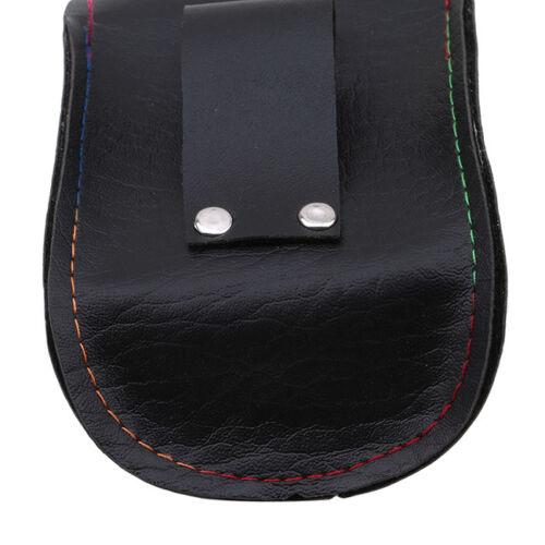 Outdoor Hunting Fiber Leather Slingshot Catapult Pouch Pocket Waist Bag SA