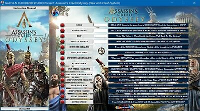 Assassin S Creed Odyssey Version 1 5 4 Cheats Trainer Mods