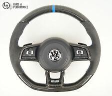 De carbono real Alcantara volante para VW Golf 7 con DSG también para golf R