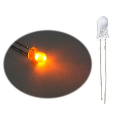 5mm 2 Beinchen Rund Grüne Led Lichtemittierende Diode Lampe 50 Stk