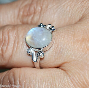 Rainbow-Moonstone-ring-925-Solid-Sterling-Silver-Handmade-Jewelry-Size-3-13-US