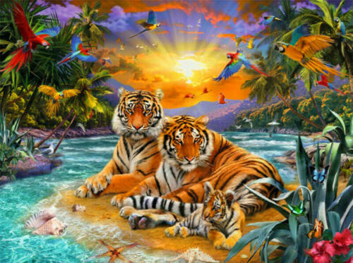 DIY Paint By Number Kit Digital Oil Painting Animal Scenery Home Decor Artwork