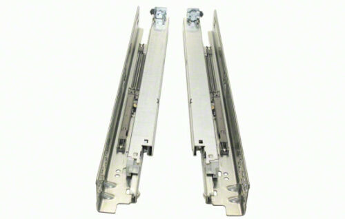 Zinc Plated Blum 563F3810B TANDEM 15 Inch Full Extension Concealed Undermount