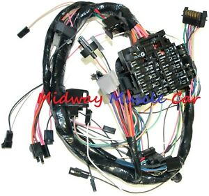 Dash wiring harness with fuse block 79 80 Chevy Camaro | eBay | 1980 Chevy Camaro Fuse Box Picture |  | eBay