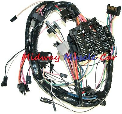 dash wiring harness with fuse block 79 80 chevy camaro | ebay  ebay