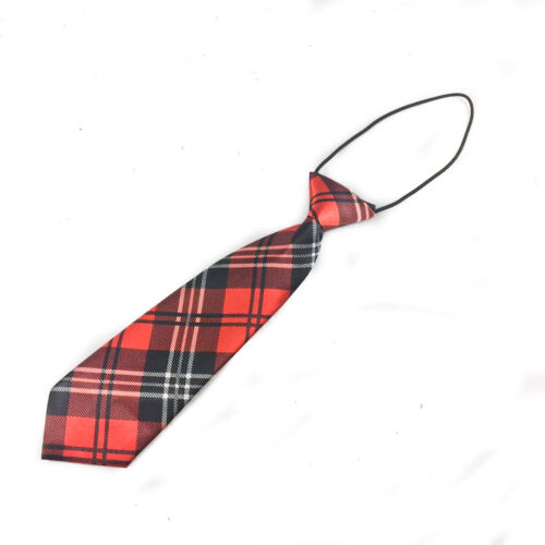 6 Elegant Desgin Plaid Color 1x kid/'s tie Tuxedo Suit Tie for Children