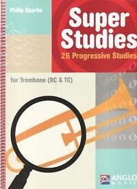 Sheet Music & Song Books Diligent Super Studies Trombone Sparke Treble/bass Clef* Punctual Timing Contemporary