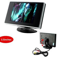 "3.5"" TFT LCD Color Screen Car Video Rearview Monitor Camera For Car Backup  ≦3W"