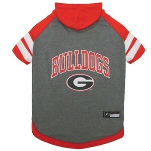 Georgia-Bulldogs-NCAA-Pets-First-Officially-Licensed-Dog-Pet-Hoodie-T-Shirt-XS-L